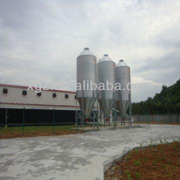 prefab low cost run poultry farm