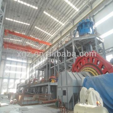 Steel manufacturing plant for steel structure