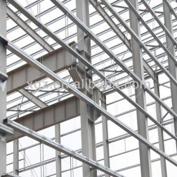 single span industrial building structural steel shed