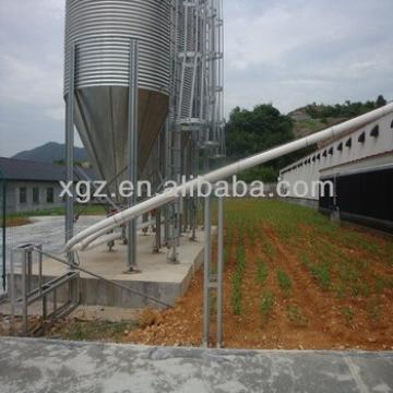 Low cost prefab steel poultry shed for sale