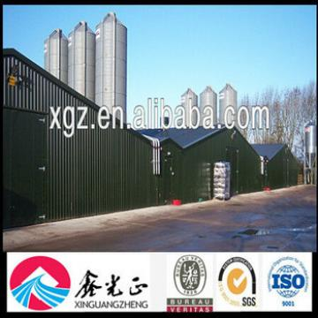 Chicken House Poultry Farm with Machine