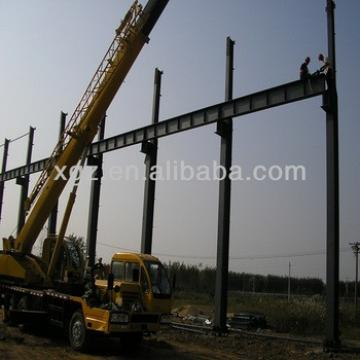 China qingdao light garage steel frame