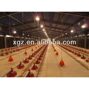 steel structure chicken house with full automatic equipment
