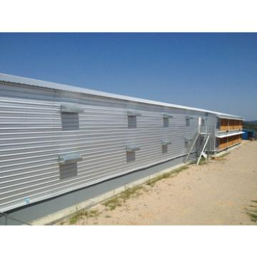 prefabricated poultry shed for build