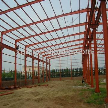 Light Metal building plant storehouse