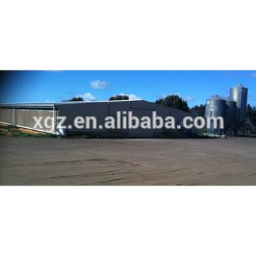 modern automatic equipment steel poultry chickens farms for sale with broiler shed
