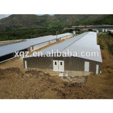 best selling modern design steel structure for chicken house for sale