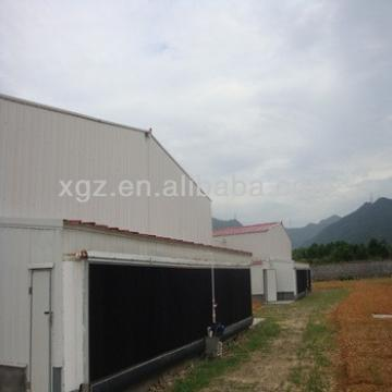 cheap prefab steel chicken farm shed