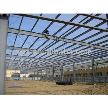 Light steel structural prefab workshop building