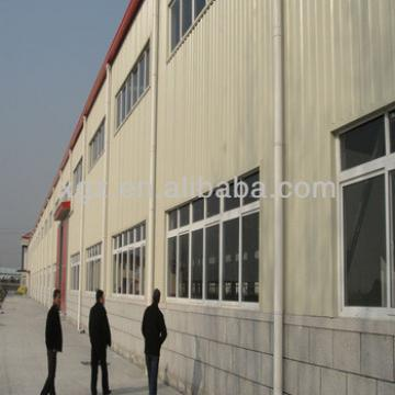 steel construction prefab warehouse