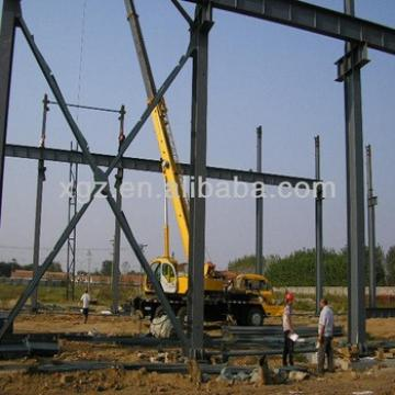 Good cheap welded h beam frame