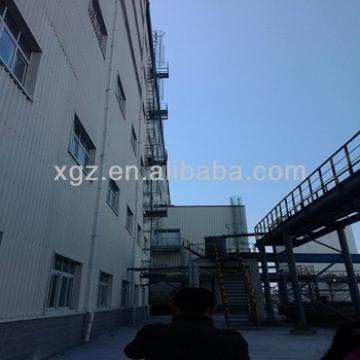 Big industrial steel building project
