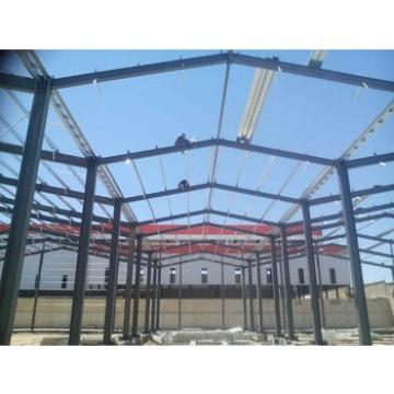 installation fast steel structure used for warehouse and workshop
