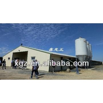 Light frame prefabricaed building chicken poultry house