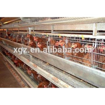High quality prefabricated egg chicken house design for layers