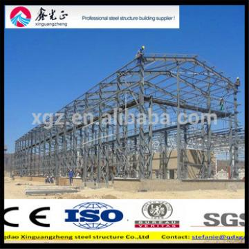 Metal steel structure materials use for warehouse/workshop/hangar