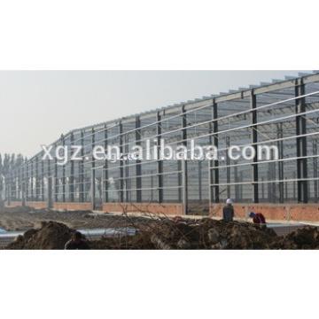 Demoutable light steel structure workshop building for hot sale