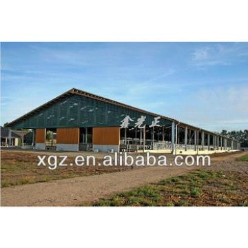 Prefabricated Strong and Durable Steel Cow Shed