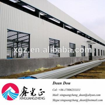 Low Cost Large-span Prefabricated Steel Structure Warehouse Buildings