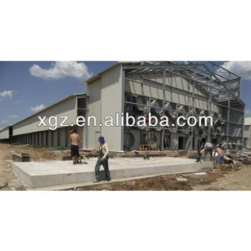 Professional design steel structure pig house