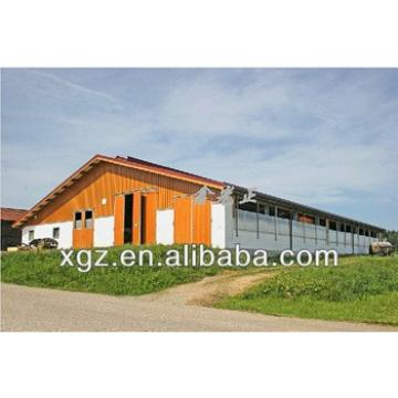 Automatic poultry farming design for cow shed/cattle stall