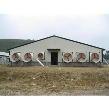 prefabricated warehouse for chicken broiler farm house