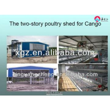 Light Steel Prefab Poultry Farm Construction Building