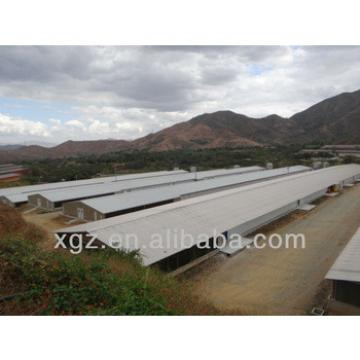light steel structure shed for cattle/sheep/chicken from China