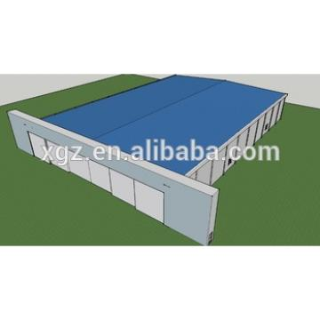 color steel structure hangar