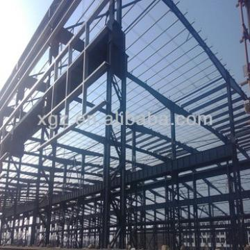 Prefabricated steel building of hangar