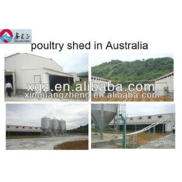 Automatic control and low cost poultry shed