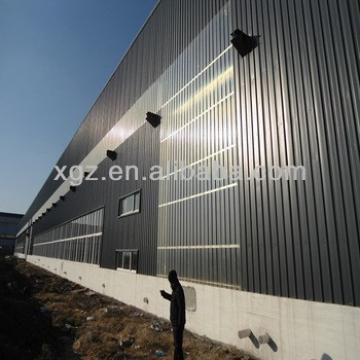 light portal steel structure prefabricated warehouse