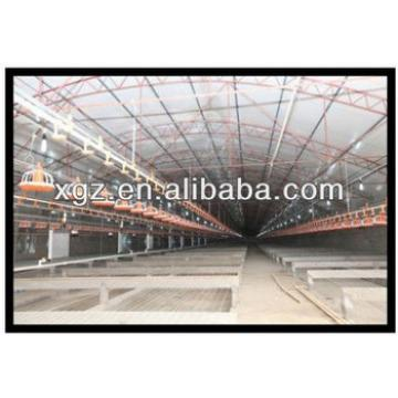 Mordern design broiler chicken shed for poultry farm