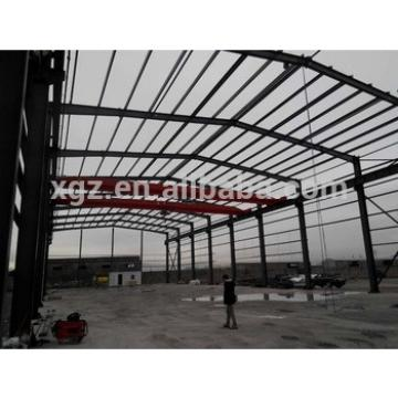 Prefabricated steel warehouse for Construction site