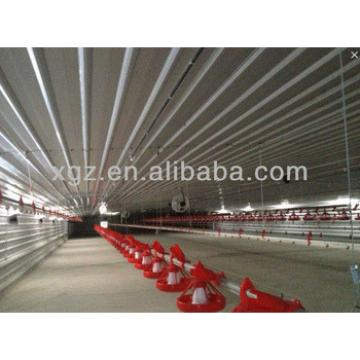 poultry farm metal structure house
