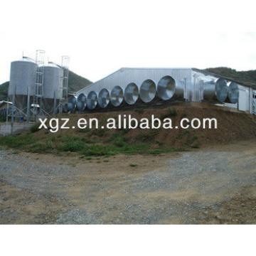 Prefab Steel Structure Poultry House for chicken