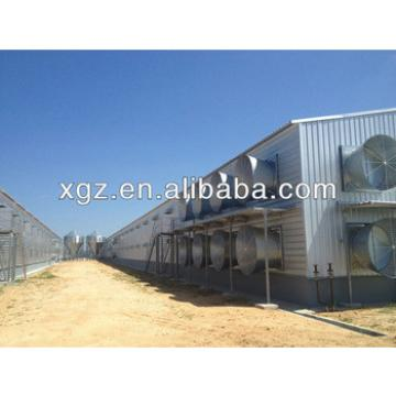 Moisture-proof sandwich panel chicken shed for poultry farm