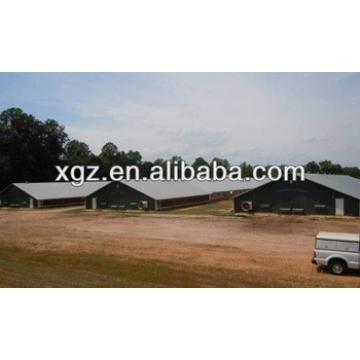 Mordern design steel structure poultry shed