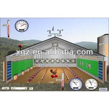 Light Steel Chicken House In Africa