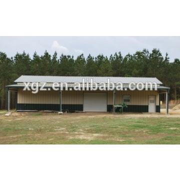 Low cost Prefabricated Fabric Light Steel Storage Shed Made In China