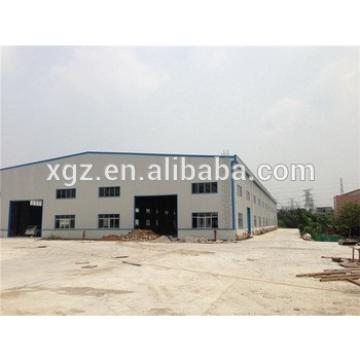 with mezzanin steel structural framework prefabricated building
