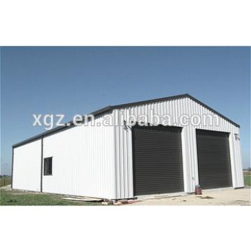 Portal Frame Light Steel Structure Metal Shed