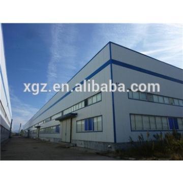 multi-span portal industrial hangar
