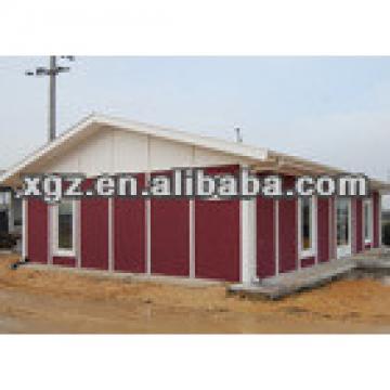 XGZ prefabricated steel frame prefab house