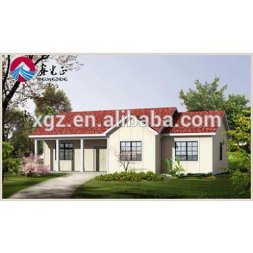Steel Structure Modular Villa in Angola