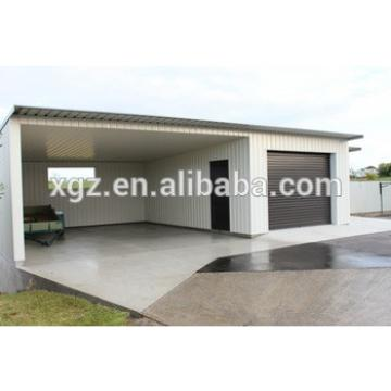 Economic Steel Frame Prefabricated House Car Garage
