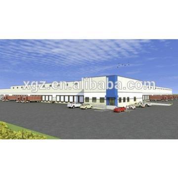 two story multi-span Steel Fabrication Warehouse