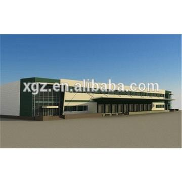 colour cladding customized galvanized steel frame buildings