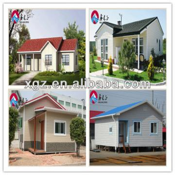 XGZ sandwich panel low cost prefab green homes for sales