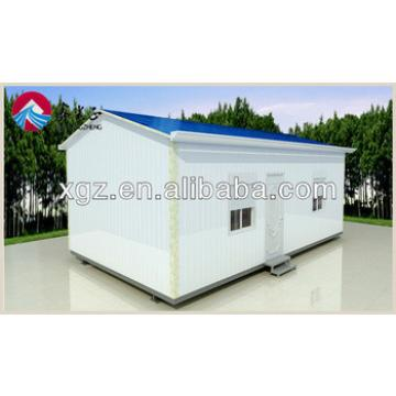 XGZ low cost steel prefabricated sandwich panel house